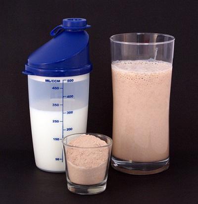 חלבון אחרי אימון
